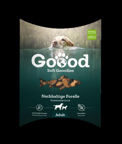 Goood snacks duurzame forel